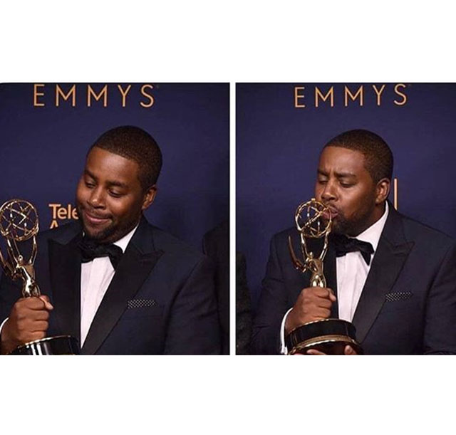 Cristian Rivera Foundation Committee Member, Kenan Thompson wins his 1st Emmy!