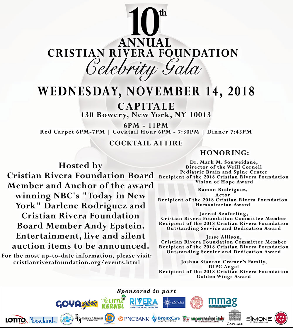 10th Annual CRF Celebrity Gala