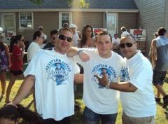 "Vic Latino & DJ Serg of Party 101.5fm with John ""Gungie"" Rivera"