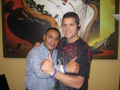 John Gungie Rivera & CRF Board Member<br/>Elis Pacheco