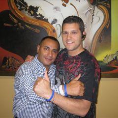 John Gungie Rivera & CRF Board Member<br />Elis Pacheco