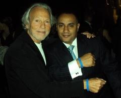 Mario Lichtenstein Founder of Voices Against Brain Cancer Foundation<br/>and John Gungie Rivera
