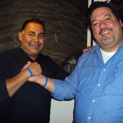 Ricardo Cardona and CRF Board Member Alex Garcia