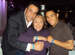 Jimmy Rodriguez,<br/>Miriam Colon<br/>and John Christopher Rivera