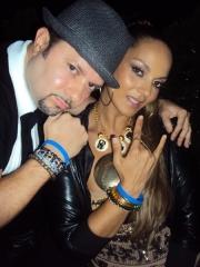CRF Board Member Louie Vega and Wife Anane  Vega