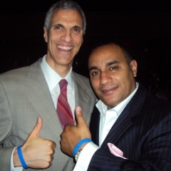 "Dr. Mark Souweidane and John ""Gungie"" Rivera at The Children's Brain Tumor Foundation Awards"