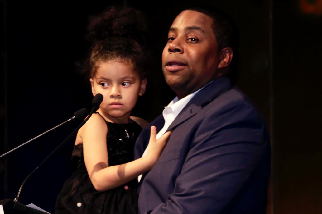 Kenan Thompson and daughter Georgia