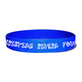 Cristian Rivera Foundation Rubber Wristband